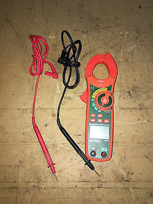 Extech MA640 True RMS AC/DC Clamp Meter          3A