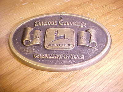 John Deere 1997 Brass Medallion