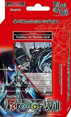 Force of Will TCG Deck - Machina, The Machine Lord  SALE!! Was £11.99 Now £4.99!
