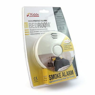 kidde homeprotect wfpv bedroom voice smoke alarm fire detector 10 year