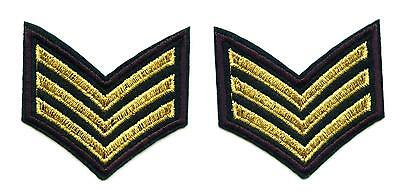 SET á 2 Aufnäher US Army Special Forces Patch Sergeant USA