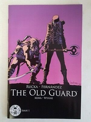 The Old Guard #1 25th Anniversary Image Blind Box Color Variant