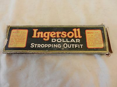 Vintage Ingersoll Dollar Stropping Outfit with Original Box