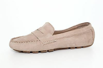 6a8461282d4 Cole Haan Women s Air Sadie Driver Penny Loafers Suede Leather 7644 Sz 5.5 B