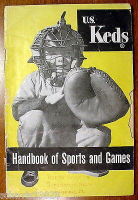 US Keds Handbook of Sports and Games Harris Brothers Department Store Gettysburg
