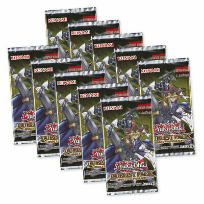 Yu-Gi-Oh! Duelist Pack Rivals of the Pharaoh 10 Booster Packs Deutsch 1. Auflage