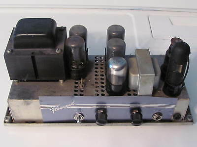 Bell & Howell Filmosound 285 Sound Projector & Guitar 14 watts Amplifier Project