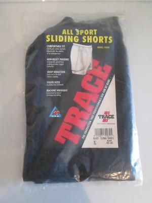 NEW Trace Athletic Baseball Sliding Shorts Padded Sliders White Black XL 40-42