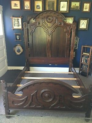 Impressive Mitchell & Rommelsberg Full Size Victorian Pho rosewood Bed
