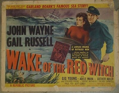 Theatre Lobby Card - Wake of the Red Witch