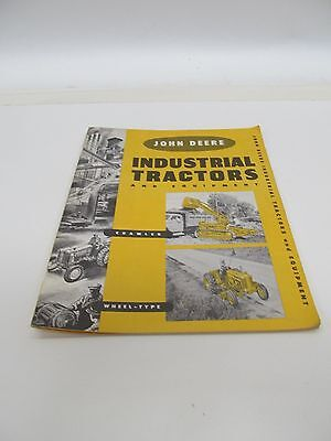 John Deere Industrial Tractors & Equipment 1956 Brochure