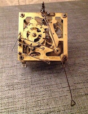 Antique Cuckoo Clock Automaton Movement Black Forest 90mm Restoration or Repair
