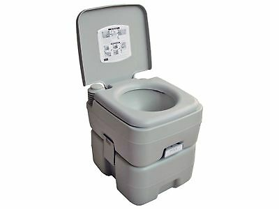 5 Gallon 20L Camping Portable Toilet Potty for Outdoor Caravan Rv, New