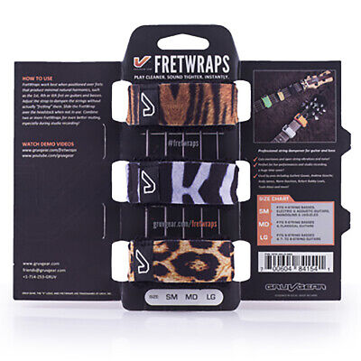 Gruv Gear FretWraps String Muters 3-Pack Wild (Small)