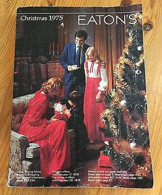Eatons 1975 Christmas Catalog