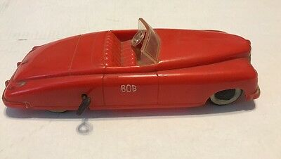 Vintage Saunders Tool & Die Company Wind Up Car
