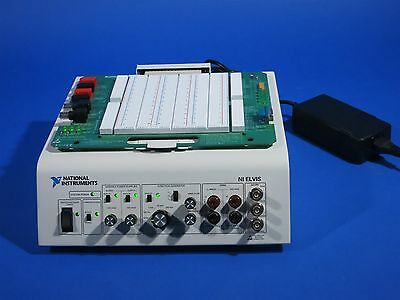 National Instruments NI ELVIS Circuit Prototyping Boards - Tested - Working