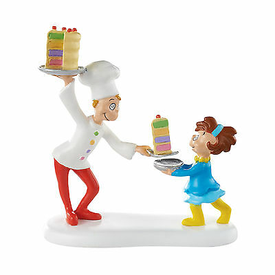 Dept 56 Grinch Village Cake For Who Cake For You 4053064 DR. Seuss NEW NIB