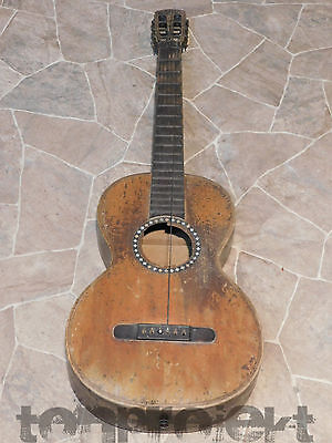 Project Antique Parlor Guitar Germany ~ 1920/1930 Hobbyists Spare Parts Decor