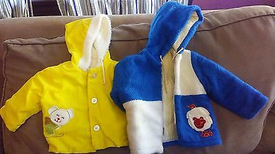 2 Vintage Children's Jacket~Boys~1970's~