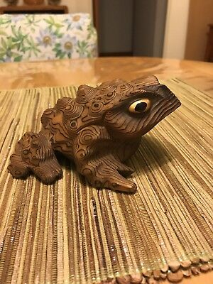 Cryptomeria Figure Horny Toad Made In Japan