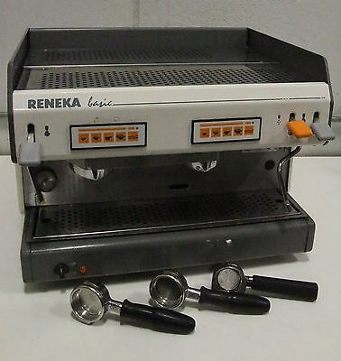 Reneka Basic 2 BA02228 Dual 2 Station Section Commercial Espresso Machine System