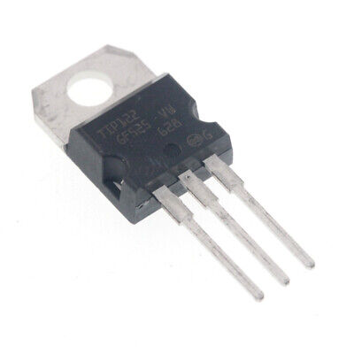 10PCS TIP122 5A 100V NPN TO-220 Darlington transistor