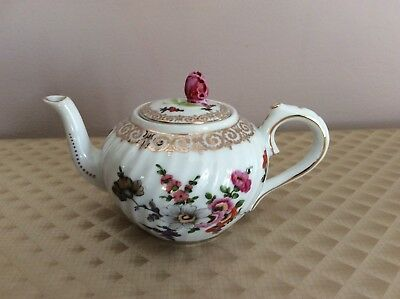 Antique Miniature Porcelain Hand Painted Mini Teapot European Style