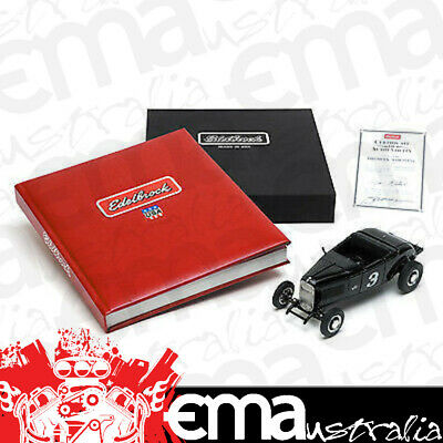 """Edelbrock Limited Edition """"made In The Usa"""" Book & Model Car Combo Ed0328"""
