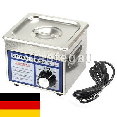 Stainless Steel 60W 1.3L Liter Industry Digital Ultrasonic Cleaner With Timer DE
