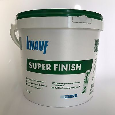 Knauf Super Finish Stucco In Pasta Per Giunti Kg.20 Sheetrock Bianco Rasature