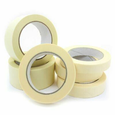 Masking Tape Indoor Outdoor DIY PAINTING DECORATING Residue Free 19-48mm x 50m
