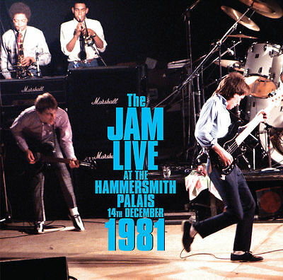 The Jam Live At Hammersmith Palais 1981 Double Vinyl Lp Sealed