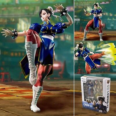 "HOT Game Street Fighter Chun-Li 15cm / 6"" PVC Action Figure New In Box"