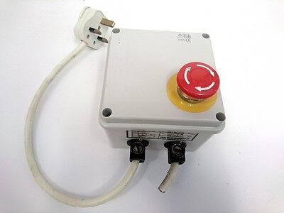 Emergency Stop power switch for CNC and other uses