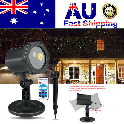 Moving Laser Projector Lam R&G LED Outdoor IP65 Landscape Garden Xmas Light HOT