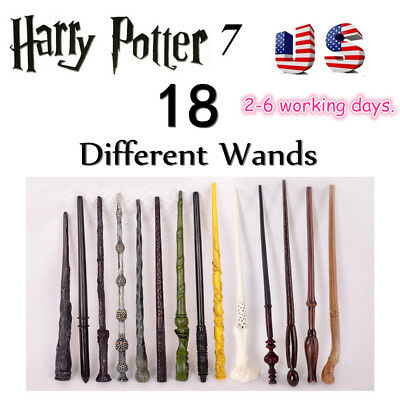 Harry Potter Hermione Dumbledore Sirius Voldemort Wand Cosplay Party Prop USPS