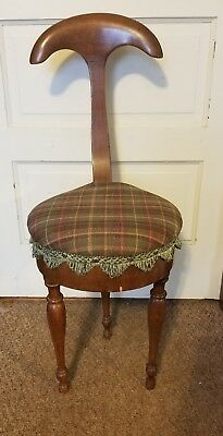 Scarce OLD UMBRELLA CHAIR MADE IN ITALY 3 LEGGED ANTIQUE