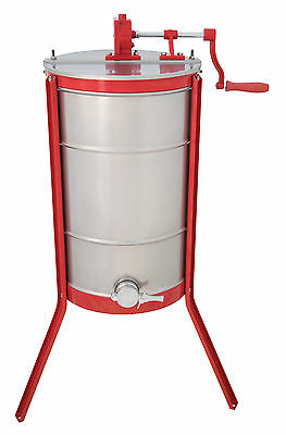 Tangential 3 Frame Manual Honey Extractor Stainless Steel Beekeeping Equipment