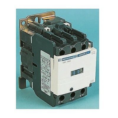 Telemecanique Tesys D LC1D95V7 3 Pole Contactor, 95 A, 45 kW, 400 V ac Coil