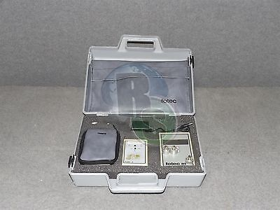 Fotec FM310 Fiber Optic Power Meter S795-232 S770 w/ Case & Accessories