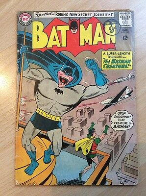 Batman #162 - Silver Age - Vg- Condition - Dc Comics March 1964