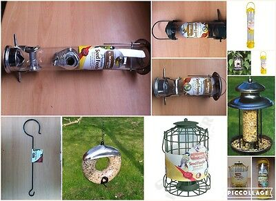 Bird Feeder Seed Various Different Types Wild Birds Feeding Station Great Value