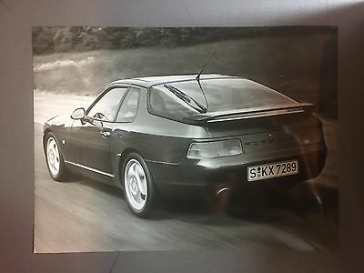"1991 / 1992 Porsche 968 Coupe Factory issued Press Photo ""Werkfoto"" RARE Awesome"