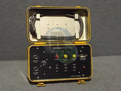 Sonic Instruments PP-6883 GSM-238 Ultrasonic Flaw Detector Dual Battery Charger
