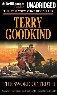 Terry Goodkind The Sword of Truth 3 book collection