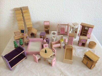 Elc Asda Type Wooden Dolls House Furniture Kitchen Table