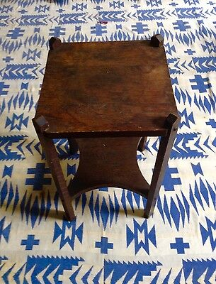Mission Oak Pedestal  Arts and Crafts with Makers Mark!!! Circa 1906