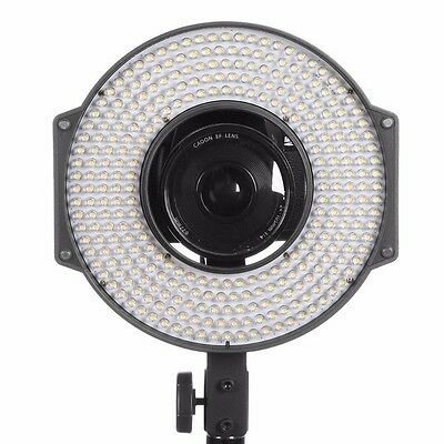 F & V R-300 Video Lighting LED Ring Light with L-Bracket for DSLR Camera SP C3K2