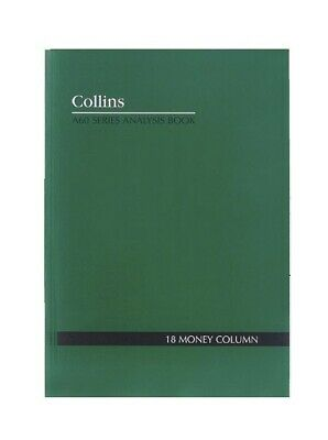 Collins A60 Account Book 18 Money - 10318